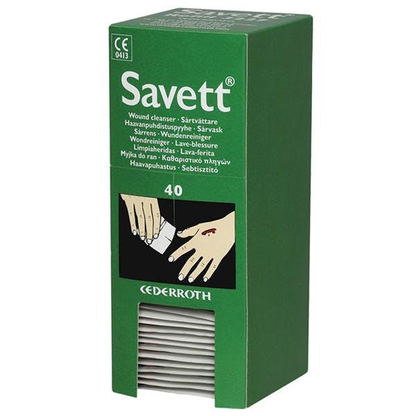 Savett Wound Cleanser Wipes