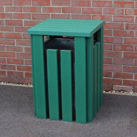 Premium Recycled Plastic Litter Bin