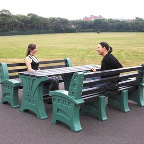 Stonehenge Dining Set with Seats