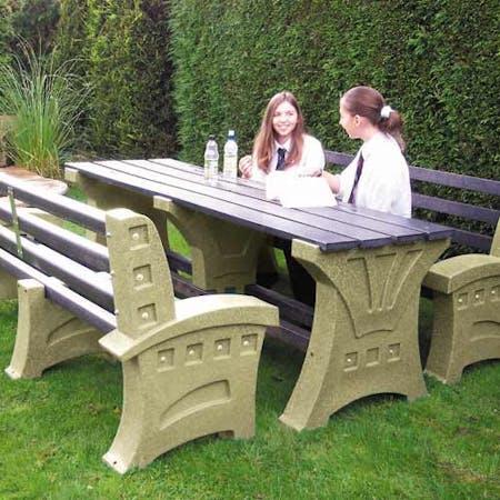 Stonehenge Dining Set with Seats
