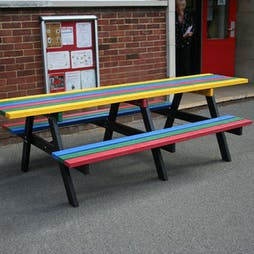 Wheelchair Access Junior Picnic Table