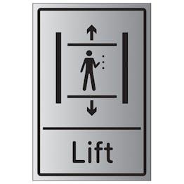 Lift - Aluminium Effect