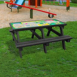 Junior Activity Table with Benches