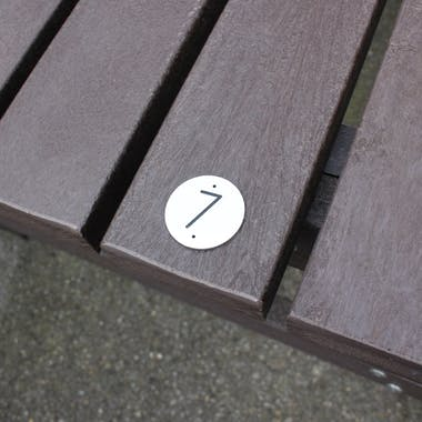 Table Tags 45mm