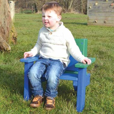 Designed for Little Ones Recycled Plastic Chair