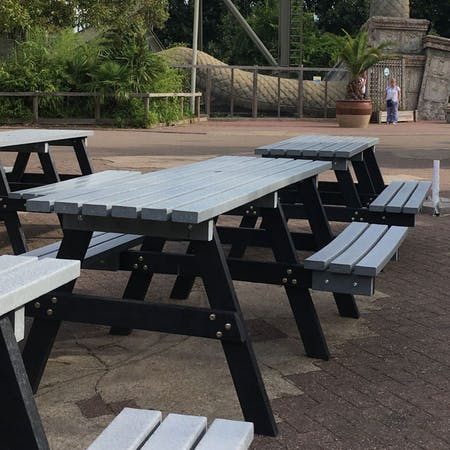 Wheelchair Access Picnic Table - Standard