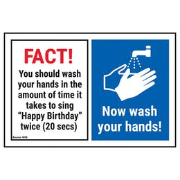 Hand Hygiene Instructional Signs