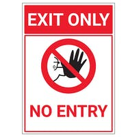 Exit Only No Entry