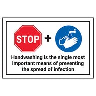 STOP/Handwashing Is The Single Most
