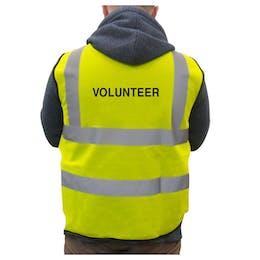 Hi-Vis Vest Volunteer