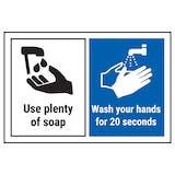 Use Plenty Of Soap…