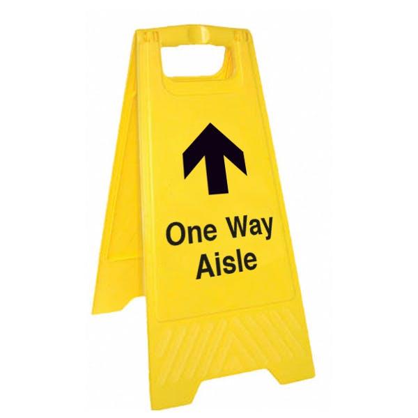 One Way Floor Stand