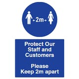 Spacing - Protect Our Staff & Customers
