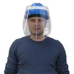Universal Safety Helmet Face Screen