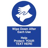 Wipe Down After Each Use