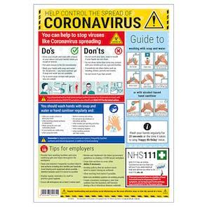 Coronavirus Guidance Poster