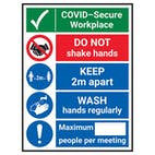 COVID-Secure Workplace - Wash Hands