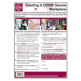 COVID-Secure Workplace Poster - An Overview