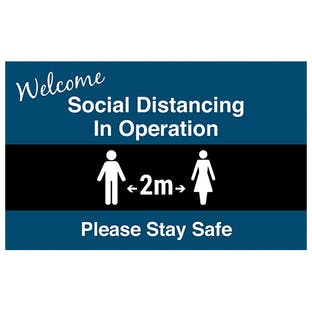 Social Distancing In Operation Mat - Landscape