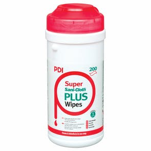 PDI Super Sani-Cloth Plus Quat Wipes
