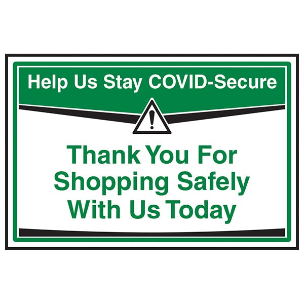 Stay COVID-Secure - Shopping Safely