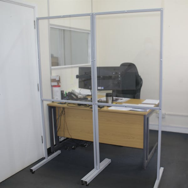 Floorstanding Office Screen