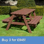 Standard 4 Person Picnic Table