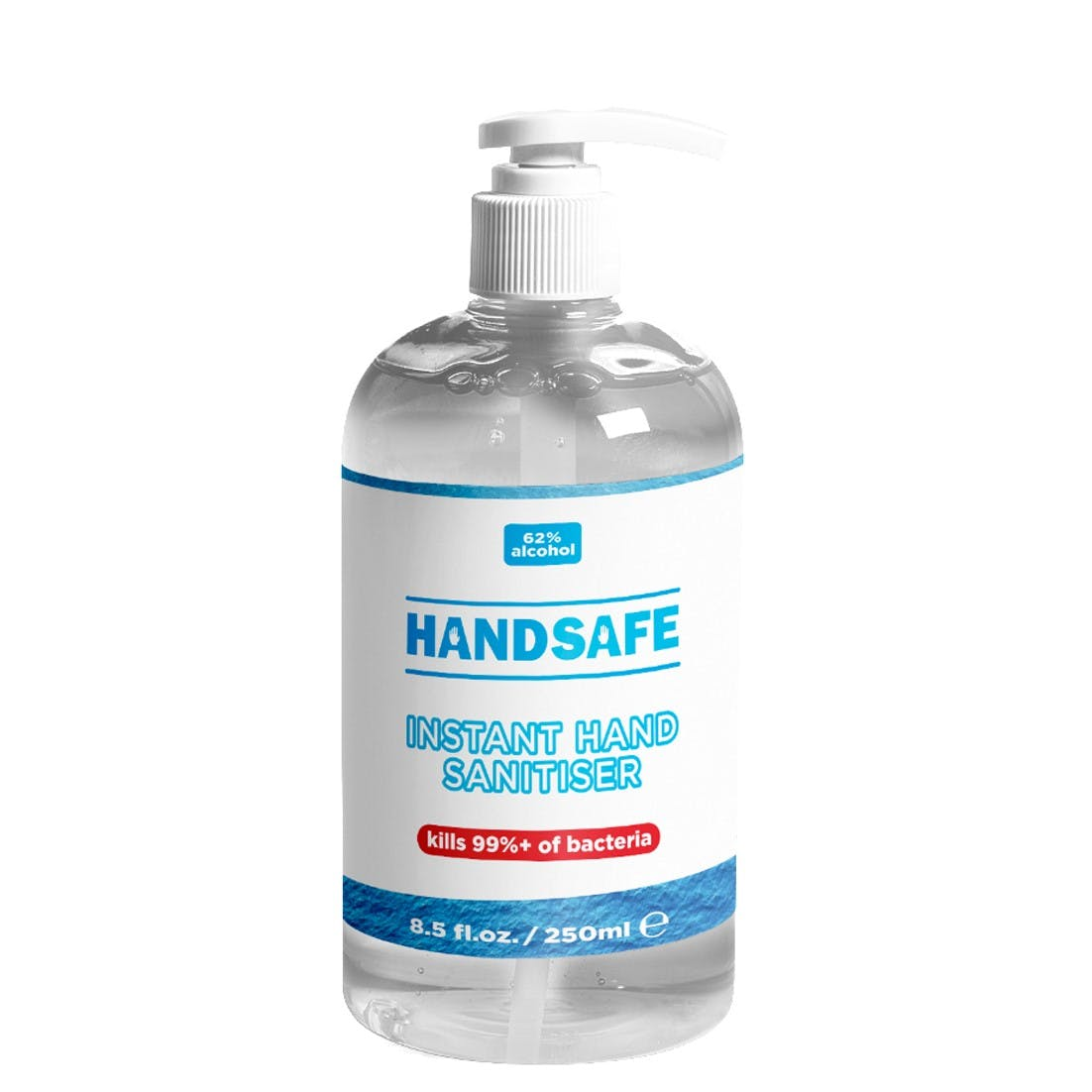 HandSafe 62% Alcohol 250ml Hand Sanitiser