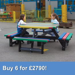Junior Octagonal Picnic Table