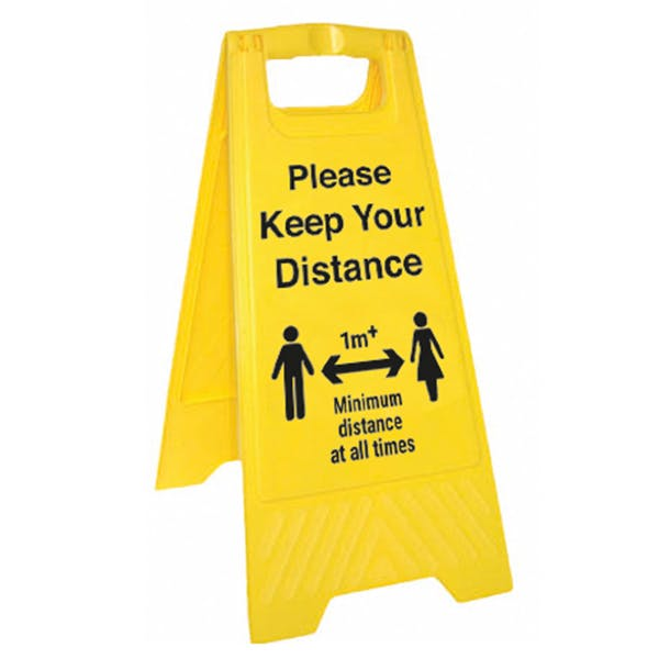 Please Keep Your Distance - 1M - Floor Stand
