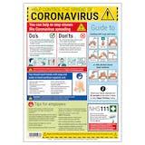Coronavirus Guidance Poster - 1 Metre