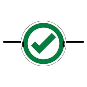 4pk Seat Marker - Tick