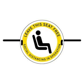 4pk Seat Marker - Leave Seat Free