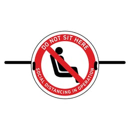 4pk Seat Marker - Do Not Sit