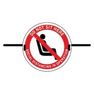 4pk Seat Marker - Do Not Sit