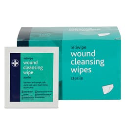 Sterile Saline Moist Cleansing Wipes