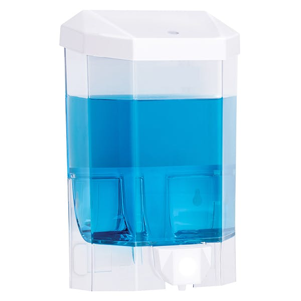 Manual 1 Litre Bulk Fill Soap / Sanitiser Dispenser