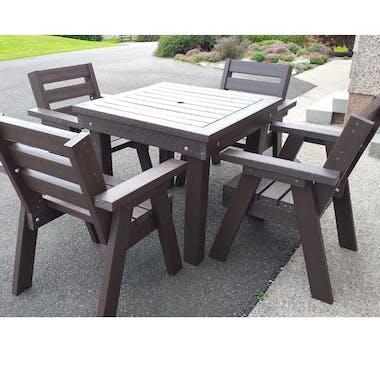 Bosun's Table and Bosuns Chairs Set