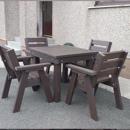 Bosun's Table and Seats Set