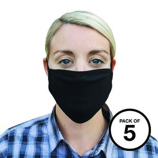 Premier Washable 2-Ply Face Covering (Pack of 5)