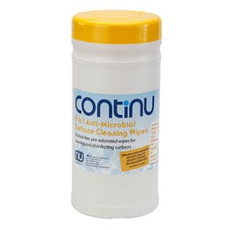 Continu 2 In 1 Anti-Microbial Surface Wipes