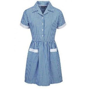 Courthill Infant School Girls Gingham Dress