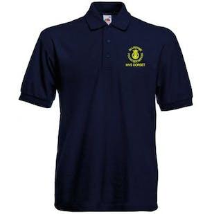 MVS Embroidered Heavyweight Polo Shirt