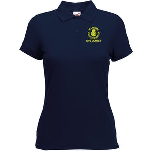 MVS Embroidered Lady Fit Polo Shirt