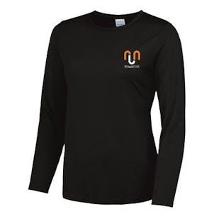 Run Far - Girlie Long Sleeve Cool T-Shirt
