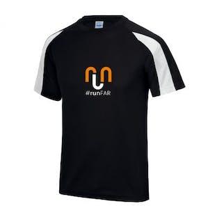 Run Far - Contrast Cool T-Shirt