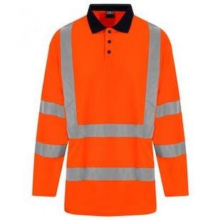 Pro RTX Hi-Vis Long Sleeve Polo Shirt