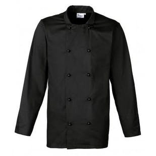 Premier Cuisine Long Sleeve Chef's Jacket