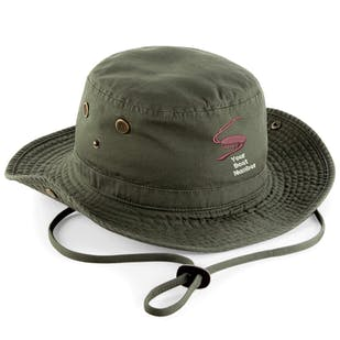 S.O.A Embroidered Outback Hat