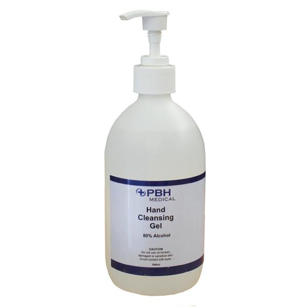 PBH Medical 80% Alcohol Liquid Hand Rub Bundle